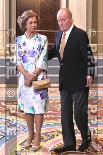 Doña Sofia y Don Juan Carlos PPE120917107
