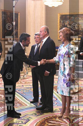 Doña Sofia y Don Juan Carlos PPE120917111