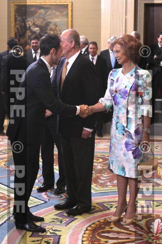 Doña Sofia y Don Juan Carlos PPE120917118