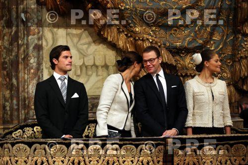 Familia real Sueca PPE12091805