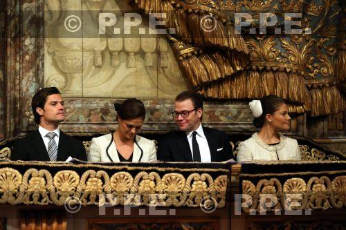 Familia real Sueca PPE12091807