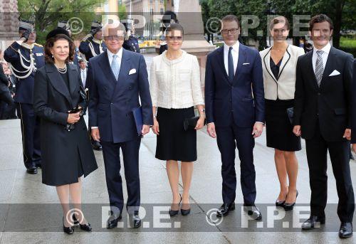 Familia real Sueca PPE12091817