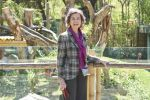 05-04-2017 Spain Queen Sofia of Spain visiting Panda Chulina at Madrid Zoo in Madrid.
