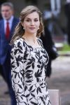20-04-2017 Madrid Queen Letizia during the 2016 Cervantes Prize Literature award ceremony at the University of Alcala de Henares, near Madrid.