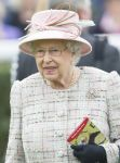 21-04-2017 England Queen Elizabeth celebrates her 91st birthday with a visit to watch the horse racing at Newbury race course, Britain.