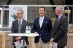 10-04-2018 Denmark Prince Joachim during the opening of the DTU's Poul la Cour Wind tunnel at the DTU Riso Campus in Roskilde