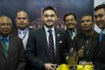 18-04-2018 Tengku Amir Shah(27, C), the current Crown Prince of the Malaysian state of Selangor is poses for a group picture during the 16th Defence Services Asia (DSA) 2018 exhibition at MITEC(Malaysia International Trade & Exhibition Center) in Kuala Lumpur, Malaysia on April 18, 2018.