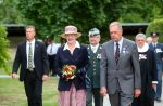 29-08-2013 Hellrup Queen Margrethe attended a memorial service for August 29th 1943 (the fallen freedom fighters) in Mindelunden, Hellerup.  © PPE/colourpress/rpp