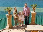 11-08-2014 Majorca King Felipe and Queen Letizia and Princess Leonor and Princess Sofia visiting the Raixa country house in Bunyola on the Sierra de Tramuntana mountain at Palma de Mallorca, Spain.   © PPE/Nieboer