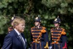 15-08-2020 The Hague King Willem-Alexander attended the national commemoration of the capitulation of Japan on August 15, 1945 at the Indisch Monument in The Hague.