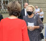 24-08-2020 Princess Beatrix attend the Salzburger Festspiele 2020 for the Opera