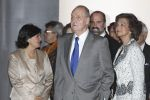 13-12-2011 Library King Juan Carlos and Queen Sofia attend the national library exhibition in Madrid, Spain.  No Spain  (c) PPE/Thorton/pool  PPE-Agency/Edwin Veloo www.ppe-agency.com  Anemonenweg 52 2241 XM Wassenaar M. 06-43497725 F 084-7384869  If you have any questions please call or e-mail us with your inquiries