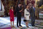 13-12-2011 Madrid Princess Letizia and Prince Felipe and King Juan Carlos and Queen Sofia at the lunch with members of the caretaker government at the royal palace in Madrid.  No Spain  (c) PPE/thorton/pool  PPE-Agency/Edwin Veloo www.ppe-agency.com  Anemonenweg 52 2241 XM Wassenaar M. 06-43497725 F 084-7384869  If you have any questions please call or e-mail us with your inquiries