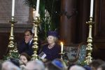 20-12-2011 Amsterdam Queen Beatrix with Joal Cahen at the opening of the restored Portuguese synagogue in Amsterdam. The new collection includes treasuries and manuscripts of the Jewish library Ets Haim-Livraria Montezinos.  (c) PPE/Buys  PPE-Agency/Edwin Veloo www.ppe-agency.com  Anemonenweg 52 2241 XM Wassenaar M. 06-43497725 F 084-7384869  If you have any questions please call or e-mail us with your inquiries