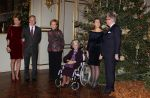 19-12-2012 Brussels Princess Mathilde and Prince Filip and Queen Paola and Queen Fabiola and Prince Laurent and Princess Claire attended the Christmas concert at the Royal Palace Palace in Brussels.  (c) PPE/v.d. Werf  PPE-Agency/Edwin Veloo www.ppe-agency.com  Anemonenweg 52 2241 XM Wassenaar M. 06-43497725   If you have any questions please call or e-mail us with your inquiries
