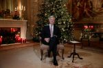 24-12-2020 Belgium King Filip - Philippe of Belgium pictured during the registration of the yearly Christmas message and best wishes, in the office of the King, at the Royal Castle in Laken - Laeken, Brussels.