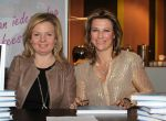 12-02-2012 Bussum Princess Martha Louise and Elisabeth Samnoy at the workshop ''Discover your guardian angel