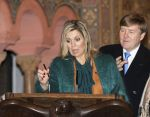 07-02-2017 Germany Queen Maxima and King Willem-Alexander visiting the castle of Wartburg in Thuringen on the 1st day of the 4 day visit to Germany.
