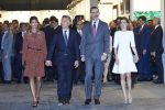 23-02-2017 Spain Queen Letizia and King Felipe with Argentine President Mauricio Macri and Juliana Awada during the opening of the 36th edition of the international art fair, ARCO 2017 Contemporary Art in Madrid.