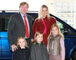 21-01-2012 Amsterdam Princess Maxima with Princess Amalia and Princess Alexia and Princess Ariane and Prince Willem-Alexander  at the international concours hippique Jumping Amsterdam.  (c) PPE/Nieboer  PPE-Agency/Edwin Veloo www.ppe-agency.com  Anemonenweg 52 2241 XM Wassenaar M. 06-43497725 F 084-7384869  If you have any questions please call or e-mail us with your inquiries
