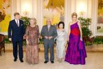 24-01-2013 Banquet Princess Maxima and Prince Willem-Alexander and Queen Beatrix on the 1st day of the 2 day statevisit to Singapore. Statebanquet at the Istana palace with Tony Tan Keng Yam.  (c) PPE/Nieboer/pool  PPE-Agency/Edwin Veloo www.ppe-agency.com  Anemonenweg 52 2241 XM Wassenaar M. 06-43497725   If you have any questions please call or e-mail us with your inquiries