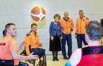 17-01-2020 Doorn Princess Margriet with the athletes of the Dutch team for the Invictus Games at the Aardenburg Military Rehabilitation Center in Doorn.