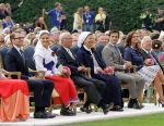 14-07-2012 Borgholm Princess Victoria and Prince Daniel and King Carl Gustaf and Queen Silvia and Carl Philip and Princess Madeleine celebrating Victoriaday at the sportarena in Borgholm.  (c) PPE/Nieboer      PPE-Agency/Edwin Veloo www.ppe-agency.com  Anemonenweg 52 2241 XM Wassenaar M. 06-43497725   If you have any questions please call or e-mail us with your inquiries