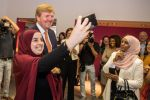 02-07-2019 Utrecht King Willem-Alexander visiting the Taal doet meer foundation, one of the winners of the Appeltjes van Oranje, in Utrecht.