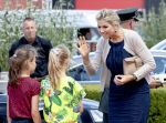 04-07-2019 Dokkum Queen Maxima visiting the Bouwgroep Dijkstra Draisma in Dokkum. 