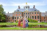 19-07-2019 HtB Queen Maxima and King Willem-Alexander with Princess Amalia and Princess Alexia and Princess Ariane pose for the media during the annual photo session at palace Huis ten Bosch in The Hague.