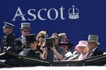 20-06-2012 Ascot Queen Elizabeth and Prince Philip on the 2nd day of Royal Ascot 2012 in London.  The five-day meeting is one of the highlights of British horse racing.   No Spain  (c) PPE/Thorton   PPE-Agency/Edwin Veloo  www.ppe-agency.com  Anemonenweg 52  2241 XM Wassenaar  M. 06-43497725 F 084-7384869   If you have any questions please call or e-mail us with your inquiries