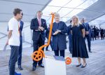 15-06-2018 Vilnius King Willem-Alexander with president Dalia Grybauskaite  visiting Tech park during the Bilateral forum on sustainable energy on the last day of the 5 day statevisit to the Baltic state Lithuania.