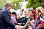 22-06-2018 Amsterdam King Willem-Alexander during the opening of the Noordkaap, a new multifunctional housing facility for the Leger des Heils in Amsterdam.