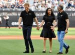 29-06-2019 London Prince Harry, Duke of Sussex and Meghan, Duchess of Sussex, before the game between the Boston Red Sox and the New York Yankees at London Stadium.