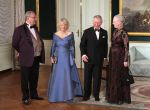 26-03-2012 Gala Queen Margrethe and Prince Henrik and Prince Charles and Camilla pose for the media prior for the diner at Amalienborg palace in Copenhagen.  (c) PPE/Nieboer  PPE-Agency/Edwin Veloo www.ppe-agency.com  Anemonenweg 52 2241 XM Wassenaar M. 06-43497725 F 084-7384869  If you have any questions please call or e-mail us with your inquiries