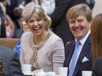 28-05-2013 Provinciebezoeken Queen Maxima and King Willem-Alexander visit the provincie Groningen. the program: Meeting a the Provinciehuis and the Martini-kerkhof and the Grote Markt. Landgoed Nienoord in Leek    (c) PPE/Nieboer  PPE-Agency/Edwin Veloo www.ppe-agency.com  Anemonenweg 52 2241 XM Wassenaar info@ppe-agency.com M. 06-43497725   If you have any questions please call or e-mail us with your inquiries