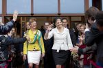 29-05-2013 Hillegom Queen Maxima at the opening of the Fioretticollege in Hillegom. The Fioretticollege is divided into education homes where students and teachers are divided into fixed groups for small education.  (c) PPE/Nieboer  PPE-Agency/Edwin Veloo www.ppe-agency.com  Anemonenweg 52 2241 XM Wassenaar info@ppe-agency.com M. 06-43497725   If you have any questions please call or e-mail us with your inquiries