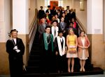20-05-2014 The Hague Queen Maxima at the inaugural (oratie) of Professor Jumoke Oduwole at the International Institute of Social Studies (ISS) in The Hague.  The 'Prince Claus Chair in Development and Equity' is a rotating chair in the field of development issues.  Jumoke Oduwole is a talented researcher at the University of Lagos in Nigeria. Her current work focuses on commercial law, international law and human rights.   © PPE/Nieboer