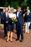 26-05-2014 Oldenburg Queen Maxima and King Willem-Alexander of The Netherlands visit Next Energy at University of Oldenburg in Oldenburg.  © PPE/v.d. Werf