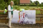 21-05-2016 Enschede Dutch Princess Irene during the opening of a nature garden at the Fete de la Nature in Enschede.