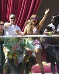 29-05-2016 Jennifer Lopez and Casper Smart arrives for the CARNIVAL DEL SOL Rooftop Bash, Drai's Beachclub at The Cromwel, Las Vegas, NV.
