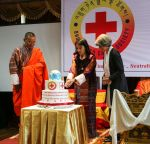 08-05-2017 Bhutan Queen Jetsun Pema, The Gyaltsuen,  graced the launch of the Bhutan Red Cross Society.