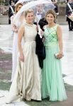 10-05-2017 Norway Princess Martha Louise and Sophie, countess of Wessex, arrive for the banquet at the Opera House to celebrate the 80th birthdays of King Harald V and Queen Sonja at Akershus Castle.