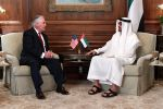 16-05-2017 USA Secretary of State Rex Tillerson meets with UAE Crown Prince Mohammed bin Zayed in McLean, Virginia.