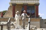 11-05-2018 Britain's Prince Charles (R), the Prince of Wales and Britain's Camilla, the Duchess of Cornwall, visit the Archeological site of Knossos, in the southern island of Crete.