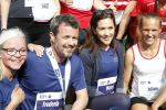 21-05-2018 Odense Prince Frederik and Princess Mary visited Odense during the Royal Run event in on the occasion of the Crown Prince's 50th birthday.