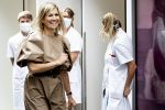 26-05-2020 Amsterdam Queen Máxima visited, in the context of the digital transformation that hospital care is undergoing in times of corona, the OLVG ( Onze Lieve Vrouwe Gasthuis) hospital in Amsterdam.