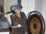 16-11-2011 Assen Queen Beatrix at the opening of the Drents museum with an exhibition titled ''The golden age of China
