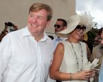 18-11-2013 Curacao Queen Maxima and King Willem-Alexander on the 6th day of the 10 day visit to the Dutch Antillen, Curacao. © PPE/Nieboer