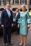 30-11-2013 The Hague Queen Maxima and King Willem-Alexander attend the celebration of the 200th anniversary of the Kingdom of the Netherlands at the Hall of Knights in The Hague. In the years 1813-1815, the foundation was laid for the Dutch Kingdom.© PPE/Nieboer